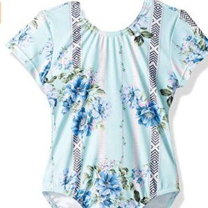 NWT SEAFOLLY GIRLS SIZE 6 FLORAL ONE PIECE SUIT